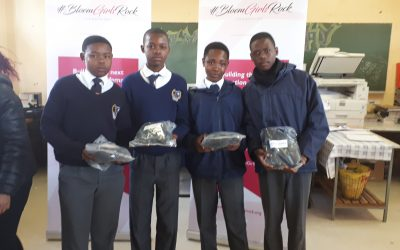 Mandela Day School Shoes Handover at Atlehang Senior Secondary School